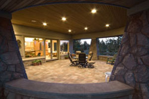create a beautiful patio under your deck in atlanta ga with ultimate underdeck - Patio Under Deck